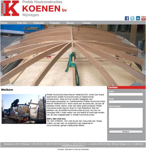 Koenen-Prefab-Website
